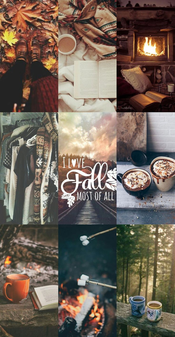 Fall wallpaper october september sweater weather coffee