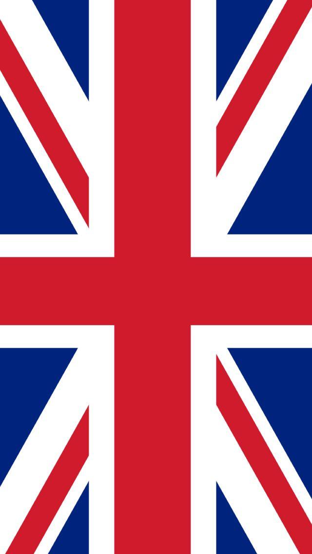 UK Flag Drawn #iPhone #5s #Wallpaper