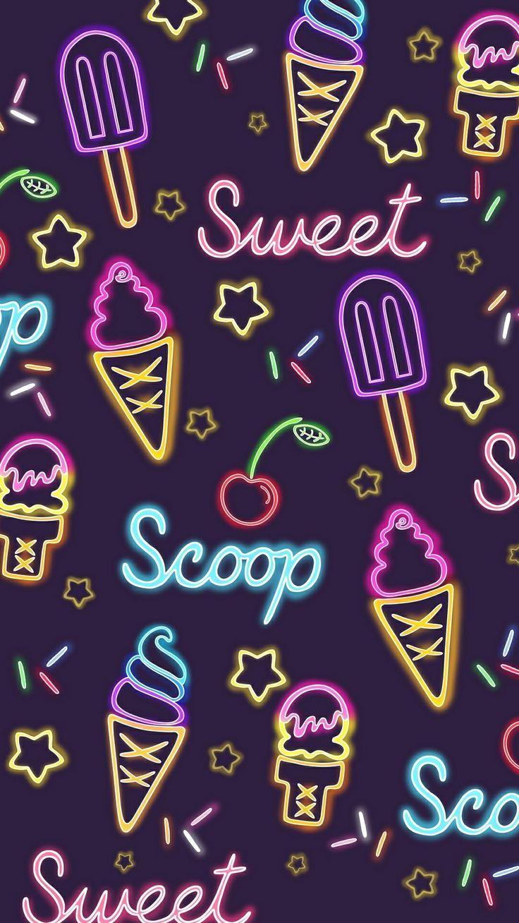 Neon sweets