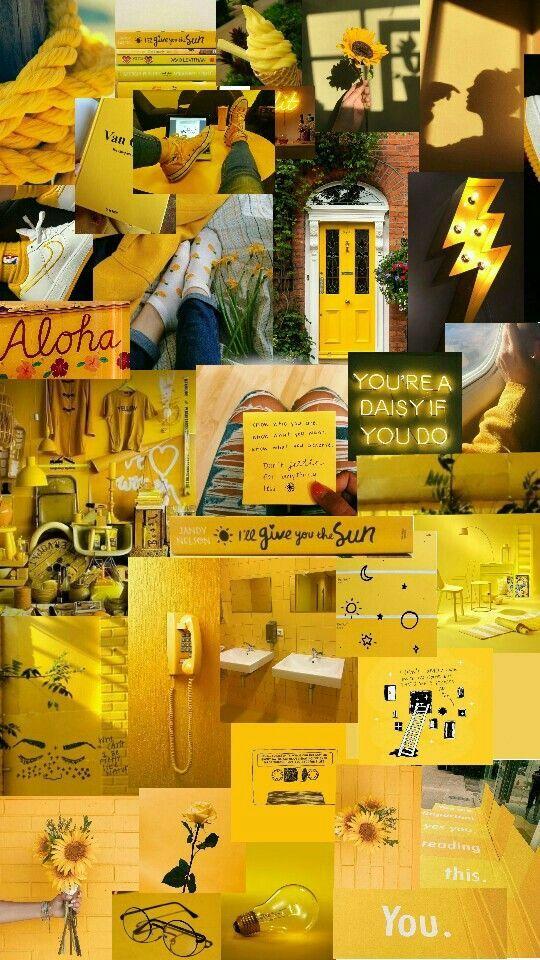 Estética amarilla #moodboard #estetica #estetica-amarilla - #amarilla #estética