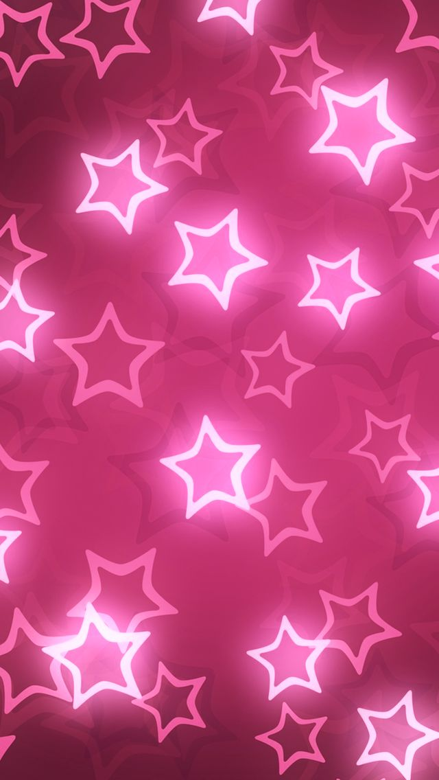 Pink Shiny Stars. iPhone Wallpapers Stars Pattern. Tap to check out more iPhone wallpapers! - mobile9