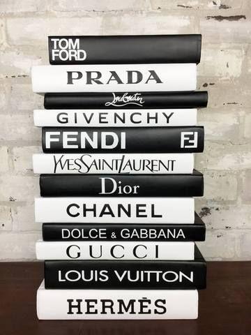 diy fashion designer book labels