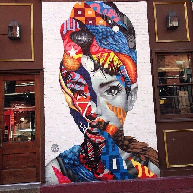 Street art, NYC.
