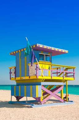 No. 4 on the list of top 10 cities to visit in 2019 is Miami. Famed for its beautiful beaches and buzzing nightlife, Miami is also a center for the arts, with bold street art and a dynamic gallery scene.