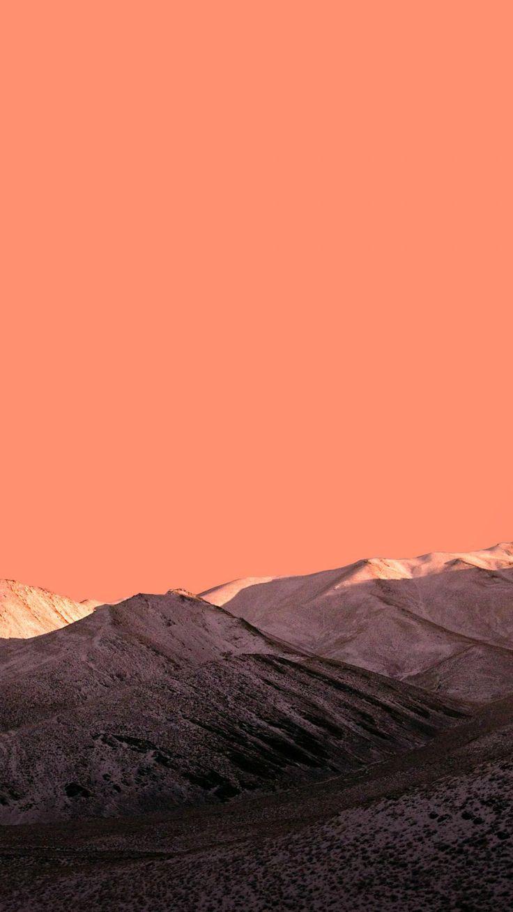 #Nature #Orange Mountains #wallpapers