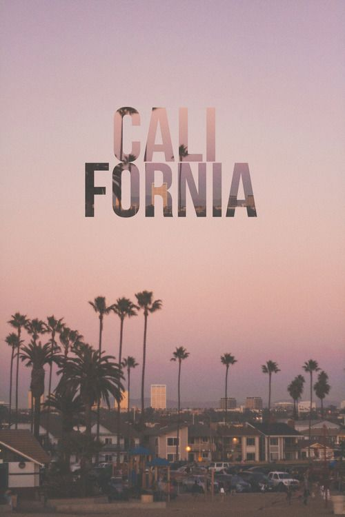 California-one of my MAJOR dreams of a destination (:
