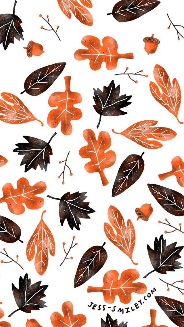 Fall Leaves ★ Find more autumn & other seasonal wallpapers for your #iPhone + #Android iPhone Wallpapers