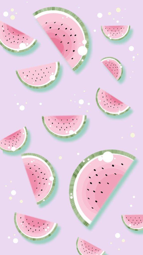 Smartphone und Iphone Wallpaper | Tutti Frutti - Melone, Ananas und Banane
