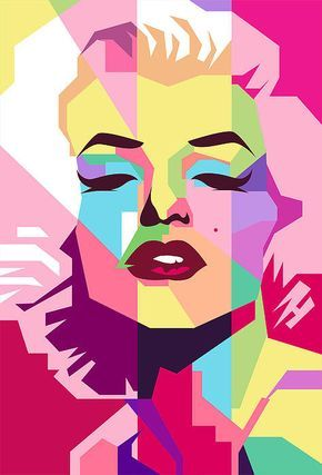 Marylin Monroe Poster By Ahmad Nusyirwan