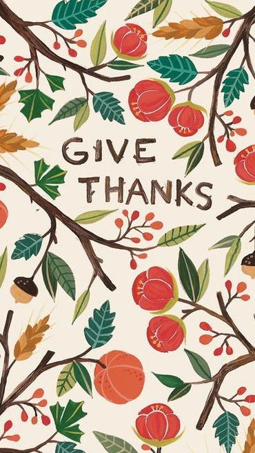 Give Thanks ★ Find more Autumn & other seasonal wallpapers for your #iPhone + #Android iPhone Wallpapers