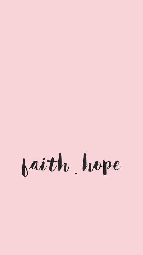 Fé e esperança