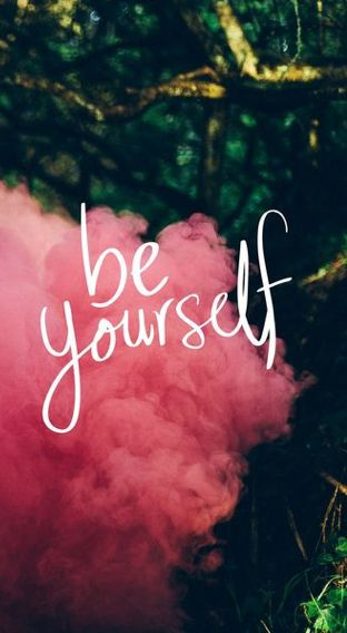 Be yourself🌺