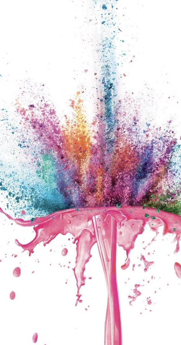 ☆ swirls and splashes