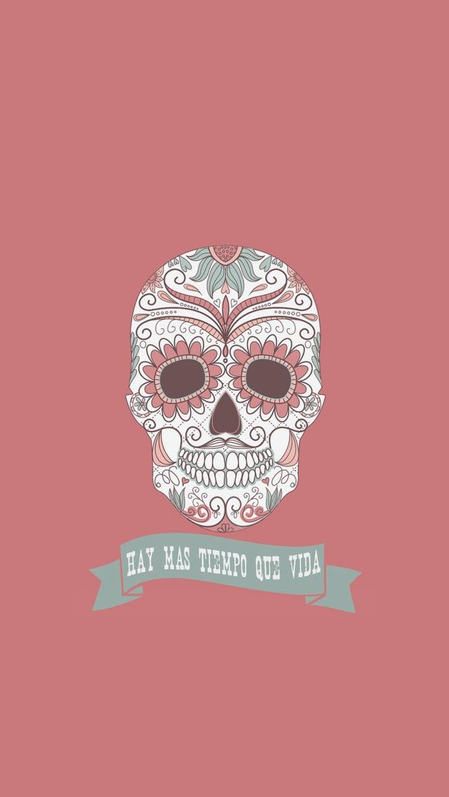 Calavera November ★ Find more autumn & other seasonal wallpapers for your #iPhone + #Android iPhone Wallpapers