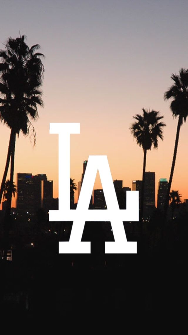 """wallpapers-okay: """"LA Dodgers logo /requested by anonymous/ """""""