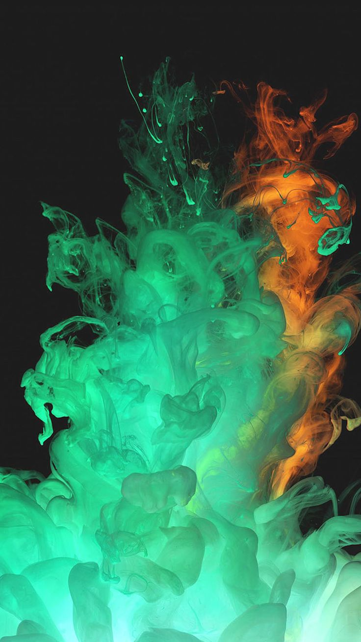 Abstract Ink Splash Art Smoke Dark - Tap to see more #smoking #hot #colourful wallpapers - mobile9