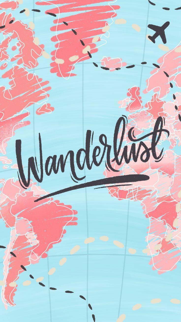 Wallpaper Wanderlust by Gocase, wallpaper, travel, viagem, mapa, road, airplane, avião, aeroporto, passaporte, papel de parede, globo, mapa, viajar, rodar o mapa, papel de parede, maps, #lovegocase, #gocase, #wallpaper,