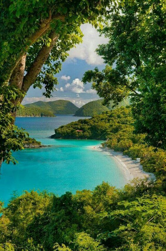 St. John, US Virgin Islands - #islands #John #St #Virgin