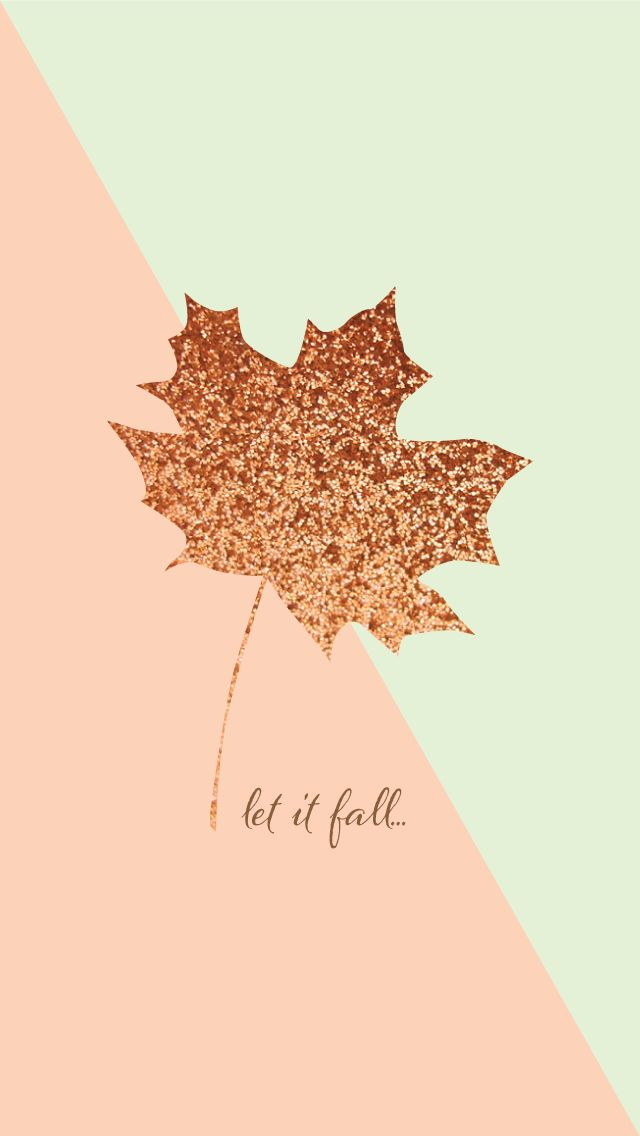 Let it fall ★ Find more autumn & other seasonal wallpapers for your #iPhone + #Android iPhone Wallpapers