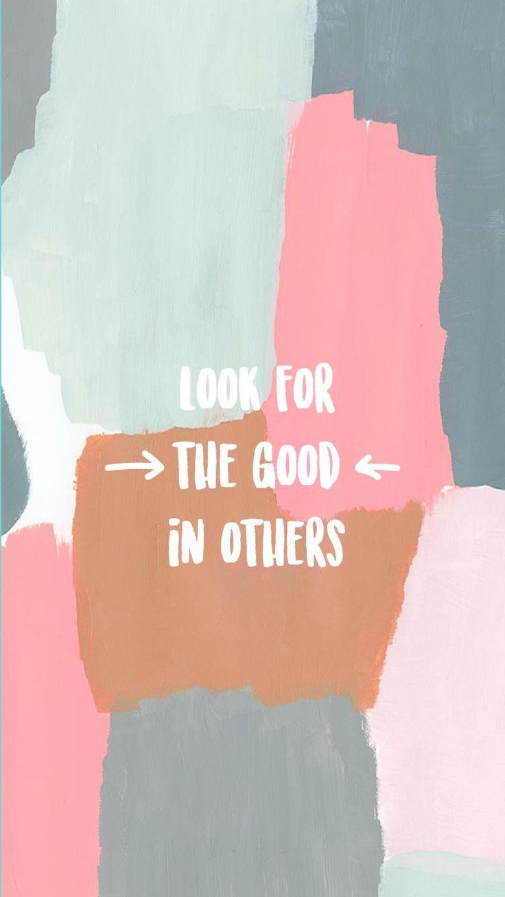 Procure o bem nos outros