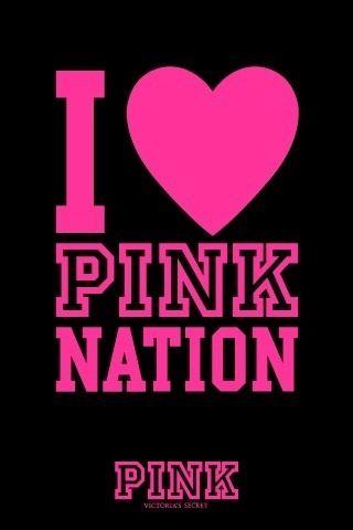 I Heart PINK Nation Wallpaper