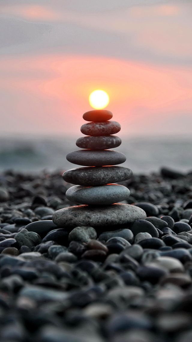 Stones and sunshine timing Photography iPhone wallpapers. Tap to check out more iPhone backgrounds. - mobile9