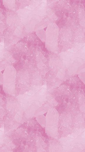 Crystal pink | Wallpaper