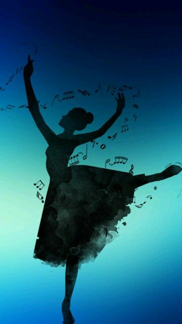 #ballerina #music #notes #wallpapers #iphone #cute