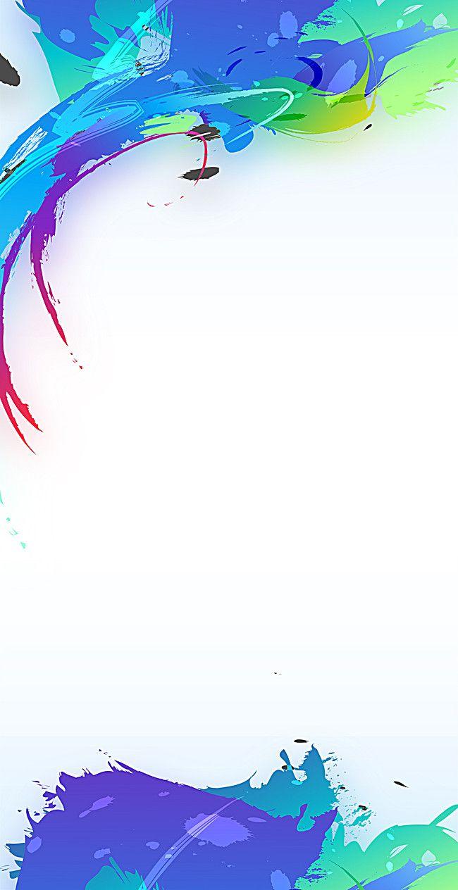 Exquisito diseño de cartel creativo siete color display rack plantilla, PSD, Blanco, Color, Imagen de fondo