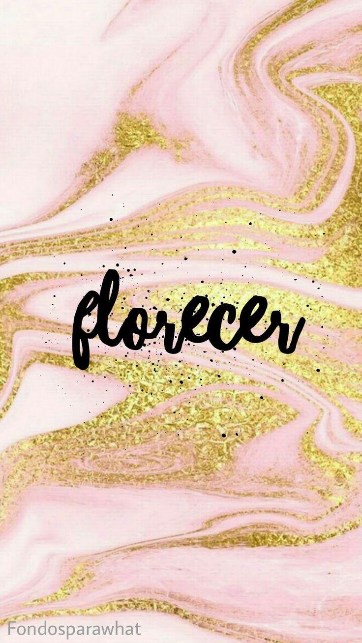 5 fondos Pink Gold con cinco palabras llenas de buena energia, AMOR, PAZ, GRATITUD, FLORECER Y VIDA. Si te gusto y la q...