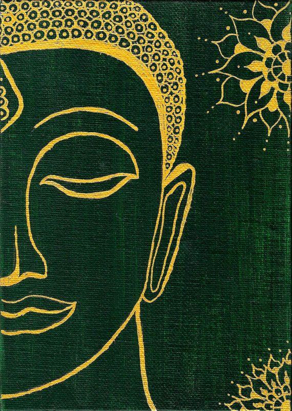 Sacred Buddha Giclee Art Print, Buddha Art, Buddhism, Buddha Print