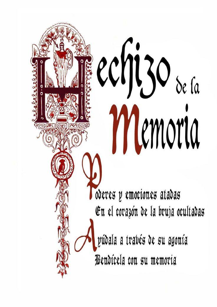 Libro de las Sombras - Hechizo de la Memoria - Wattpad