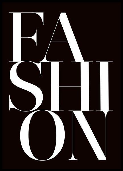 Pósters y print de moda con citas. Cuadros de Chanel y Prada   desenio.es