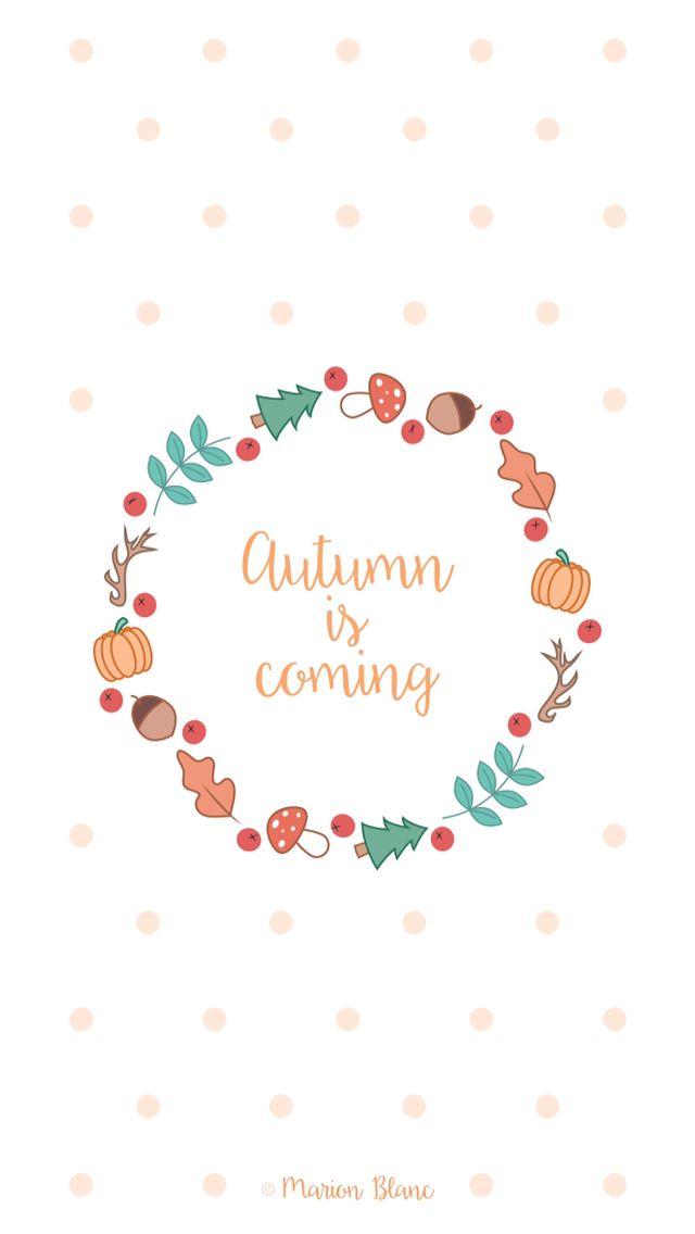 Autumn illustration vector ©Marion Blanc