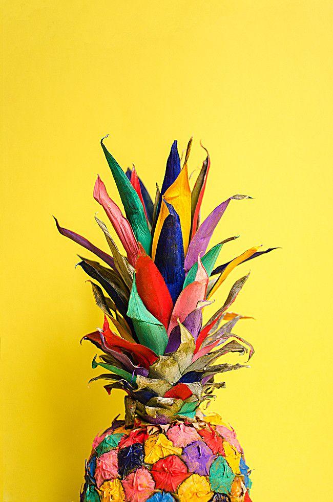 Color de fondo de piña H5