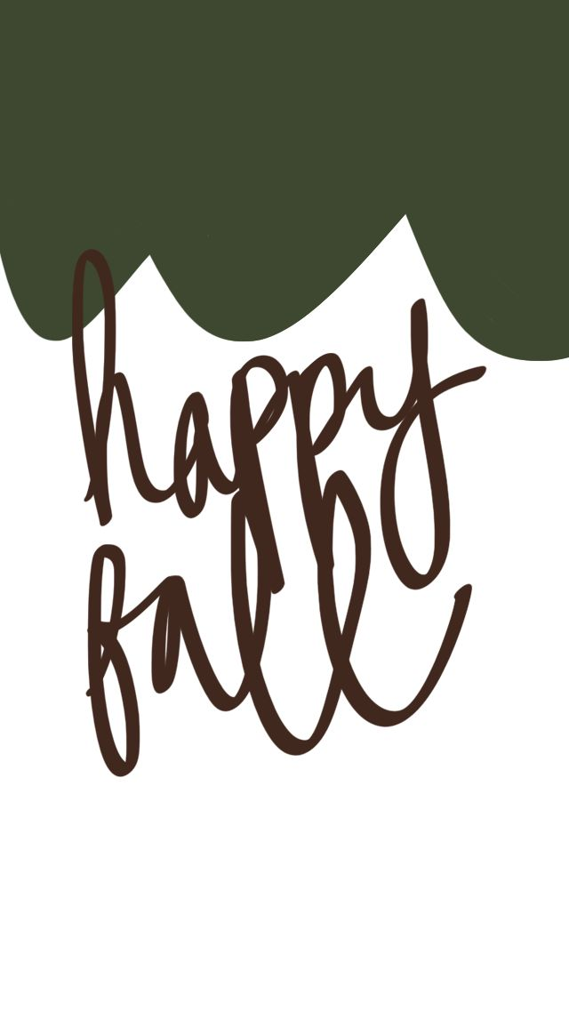 Happy Fall - Tap to see more amazing September wallpaper! | mobile9