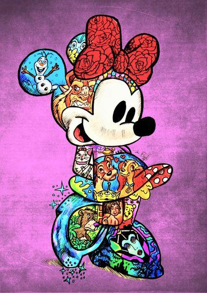 Inked Minnie