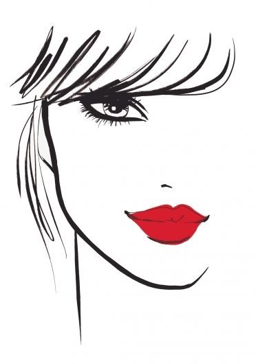 Black & White with a Pop of RED~