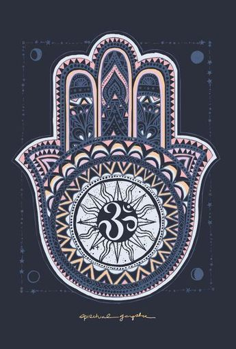 The Hamsa Hand is a universal sign of protection, power and strength that dates back to ancient Mesopotamia.