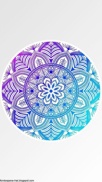 Fondo de Pantalla con Mandala #Wallpaper #Mandalas #Fondosdepantalla