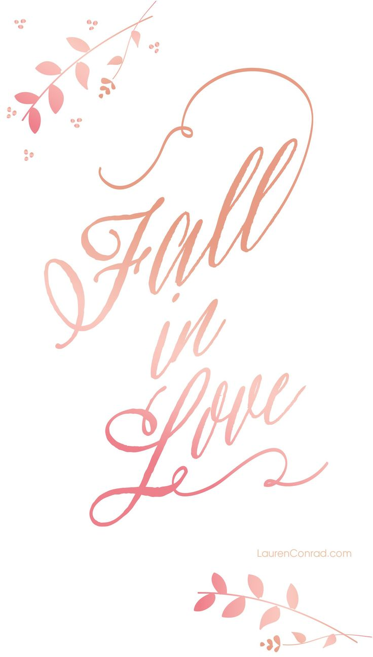 Fall in Love ★ Find more Autumn & other seasonal wallpapers for your #iPhone + #Android iPhone Wallpapers