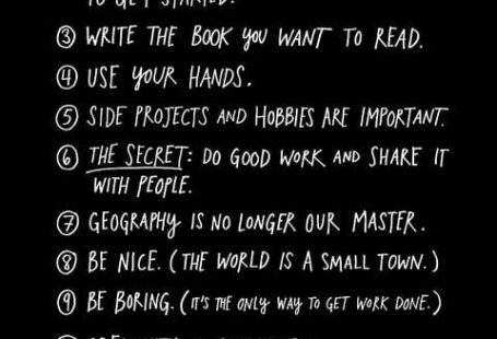 Artist and writer Austin Kleon decided to turn the 10 things he wished he