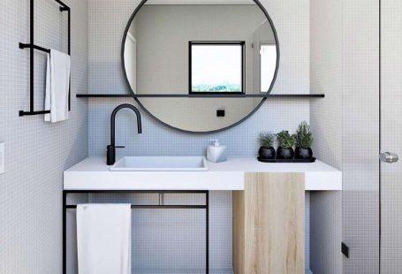 Mirror With Shelf Q