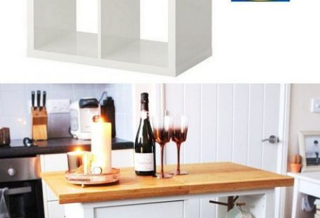 20+ Smart and Gorgeous IKEA Hacks: save time and money with functional designs and beautiful transformations. Great ideas for every room such as IKEA hack bed, desk, dressers, kitchen islands, and more! - A Piece of Rainbow   #ikea #ikeahack #kitchen