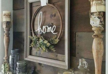 Cute Wall Accent for above your Fireplace Mantel