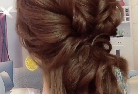 46 easy formal hairstyles for long hair women or girls #Easy #Formal #Hair #Hairstyles #Long