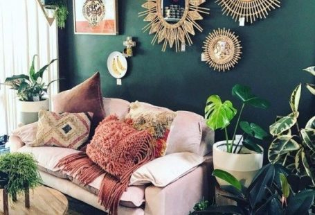 Romantic Bohemian Style Living Room Design Ideas 30
