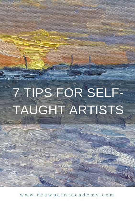 Not many of us have the luxury of going to a top art school and learning how to draw and paint in person. If you are like me and do not have this luxury, then you have the added challenge of being a self taught artist (as if learning art was not hard enough). If you are a self-taught artist, then these tips should help you out. #drawpaintacademy