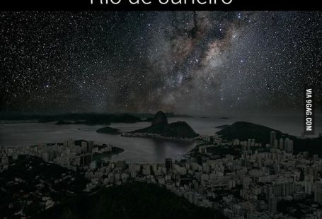 9 Amazing Night Sky of 9 Darkened Cities
