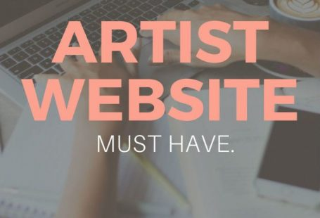 9 Things Every Artist Website Must Have. Collections // About Page // Artist Bio // Artist CV // Artist Statement // High quality photos // Art Photography // Social Media Buttons // Social Media Sharing // Newsletter opt-in // Lead Magnets // Art Blog // Artist Press Page